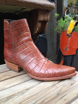 Cognac Alligator Zorro