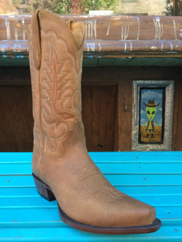 Men's Tan Cowboy Boot