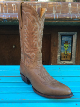 Tan Cowboy Boot Round Toe