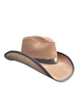 OAK: American Made Leather Western Hat