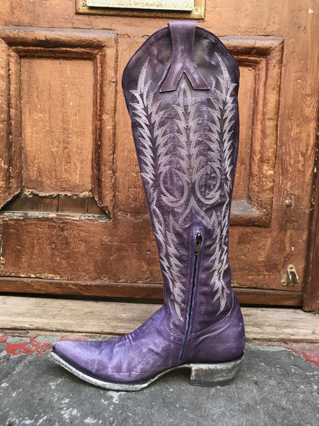 Old Gringo Dirty Purple Mayra Boots L601-60
