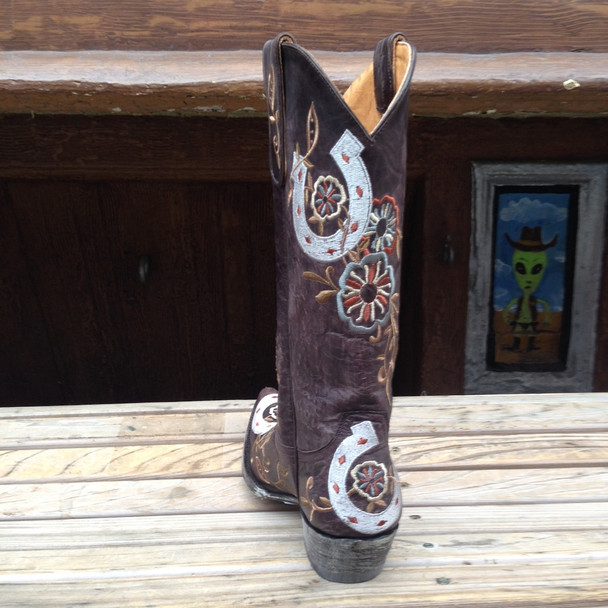 Lucky horse shoe boot
