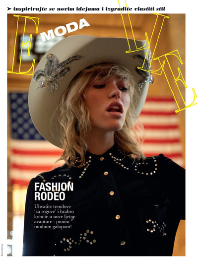 Space Cowboy in Elle Magazine, Croatia