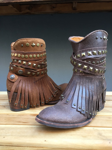 The Hattie Old Gringo Boot is Here and She Can Strap It On or Off!