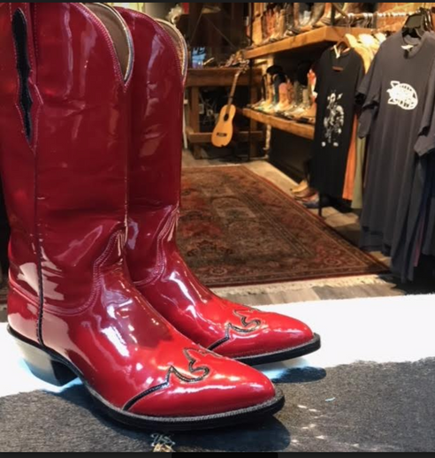 Cowboy Boots on your Valentines Day date?  A Red Hot options indeed!