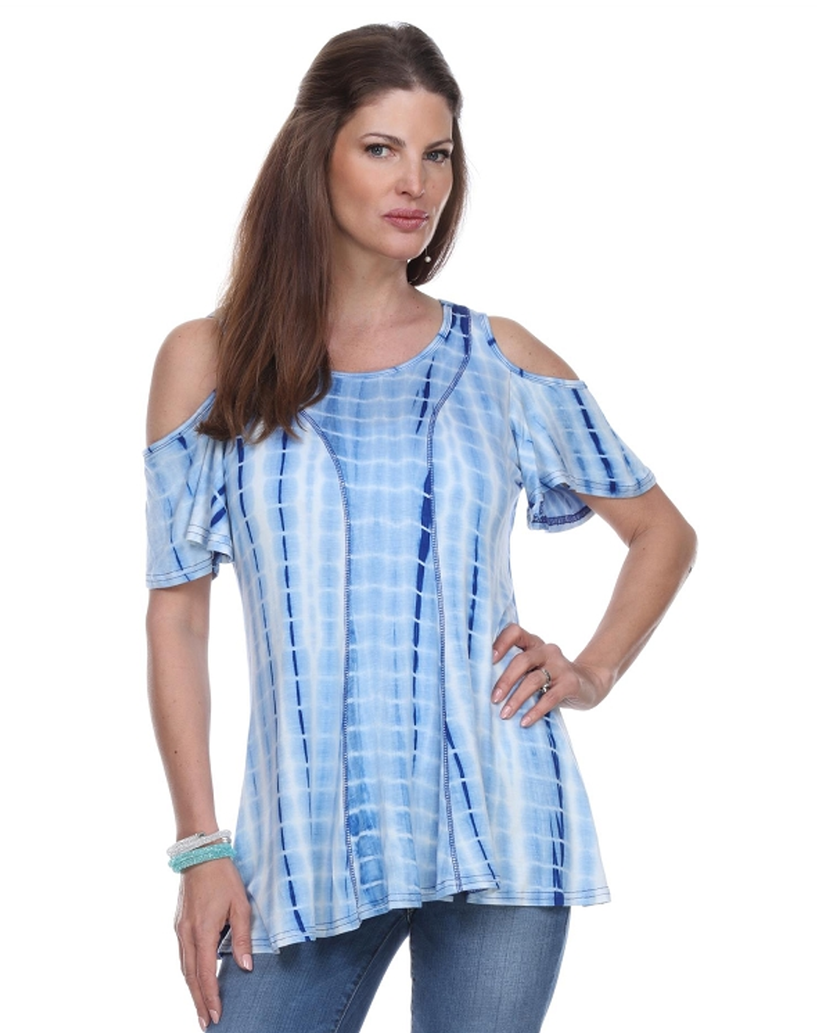 Summer fun..open shoulder top