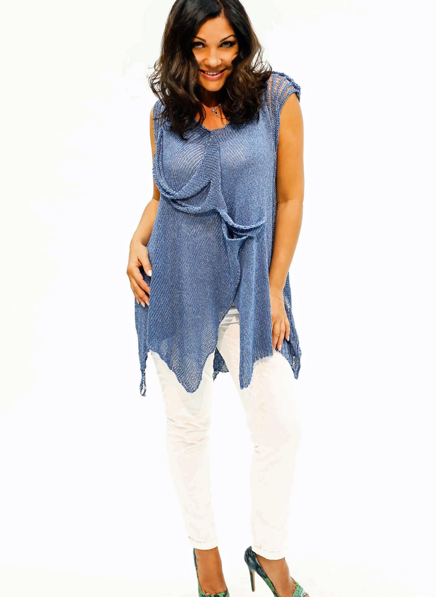 Sleeveless Pullover Tunic
