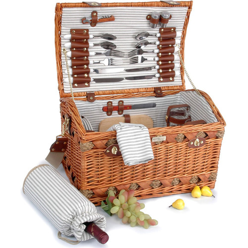 The Couture Collection Picnic Basket For 4 Picnic