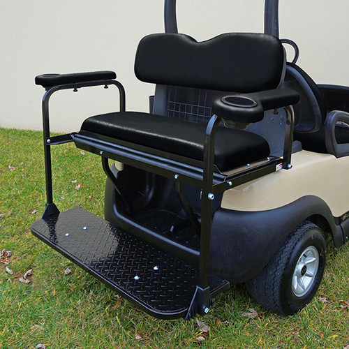 Club Car Precedent Super Saver Rear Flip Seat Kit for Golf Cart ...