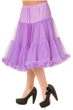 "25"" 1950s Soft Multi layered Petticoat Lilac"