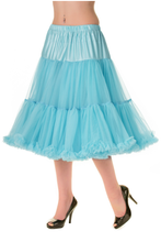 "25"" 1950s Soft Multi layered Petticoat Blue"