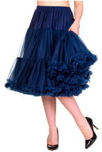 "25"" 1950s Soft Multi layered Petticoat - Navy"