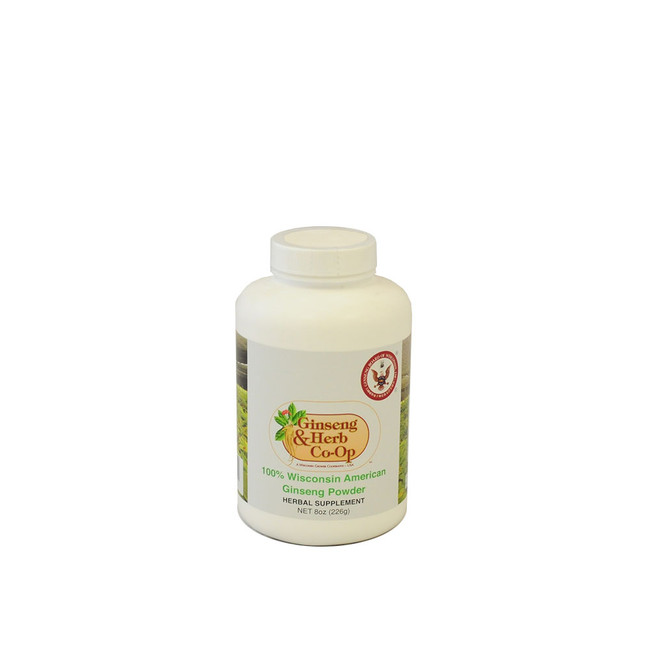 Wisconsin Ginseng Powder- 8 oz.