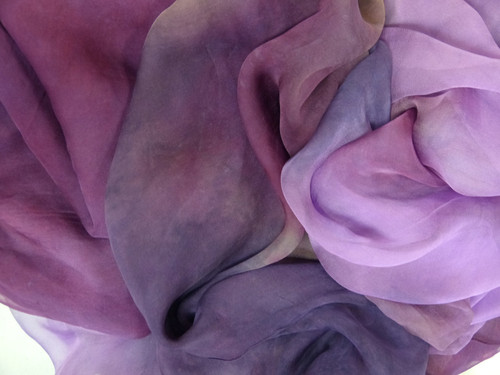 Tissue silk fabric. Open weave, lightweight,  gauzy.