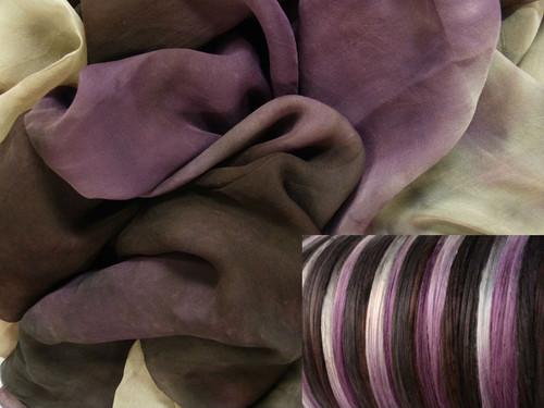 Tissue Silk Neck-Knack Felting Kit--Truffles