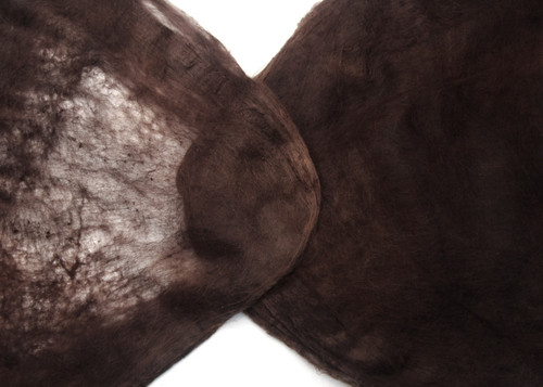 Silk hankies. This solid color is Burnished Brown
