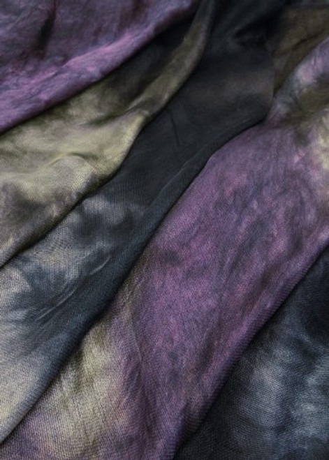 Silk mesh fabric. Open weave, lightweight,  lustrous. Truffles color.