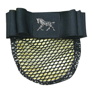 """Show Bow 1.5"""" Ribbon with Horse Charm"""