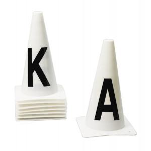 Ovation Dressage Cones- Set of 4