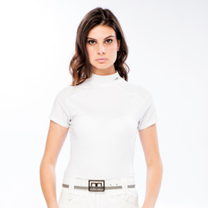 Alessandro Albanese Milena Competition Top - White
