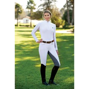 Romfh Ladies Sarafina Full Seat Breeches - White