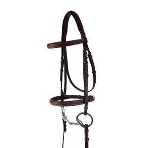 Kincade Fancy Stitched Padded Bridle