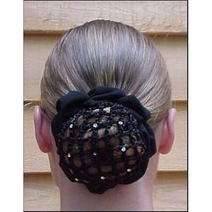 Dressage Hair Net Scrunchie
