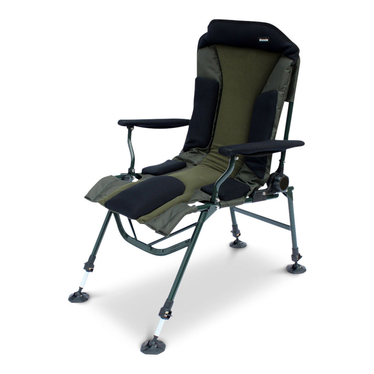 Abode® Carp Fishing Camping Folding Easy Arm™ Long Leg Recliner Sport Chair    KOALA PRODUCTS FISHING TACKLE