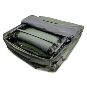 ABODE, Deluxe, Padded, Carp, Fishing, Chair, Bedchair, Carry, Bag, camping, camper, bed, beddy