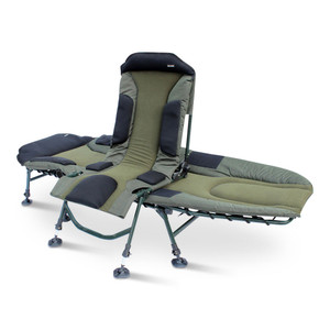 ABODE, Carp, Fishing, Camping, Folding, 6, Leg, Transformer, Sport, Bedchair, &, Bed, Buddy, chair