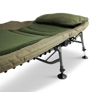 ABODE, Memory, Foam, Fleece, Big, Boy, Carp, Fishing, Camping, 6, Leg, Bedchair, camper, campers, patio