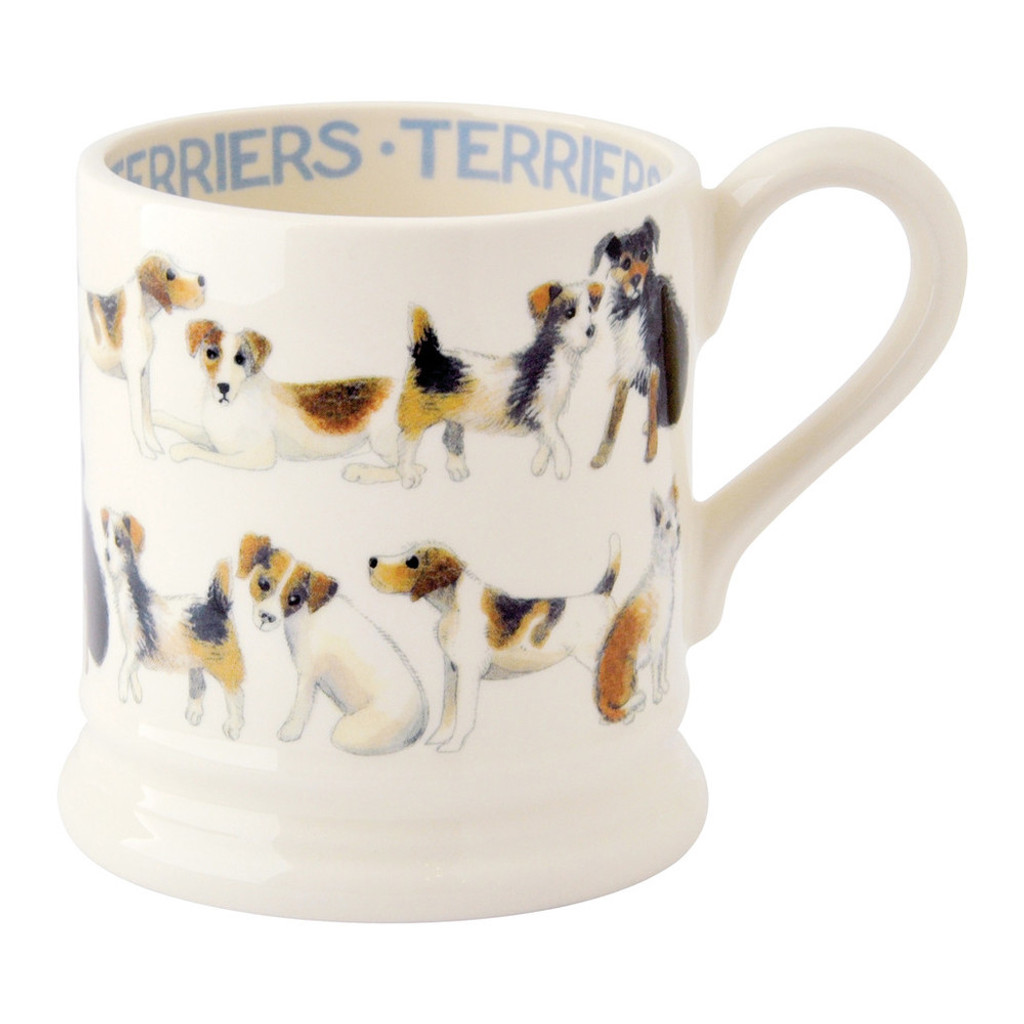 Emma Bridgewater All Over Terrier Half Pint Mug