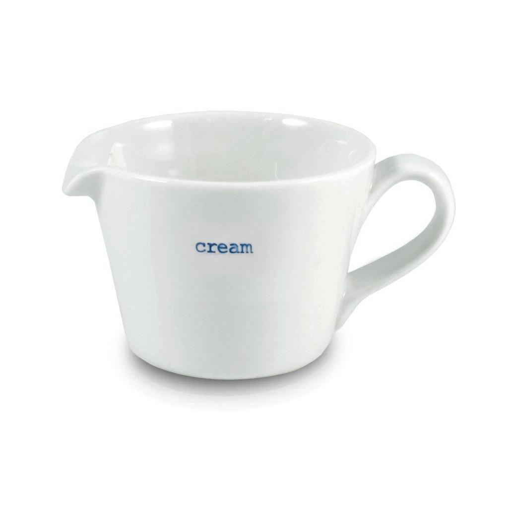Small cream jug from British designer Keith Brymer Jones.
