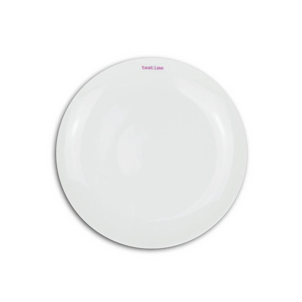 Teatime plate from British designer Keith Brymer Jones.