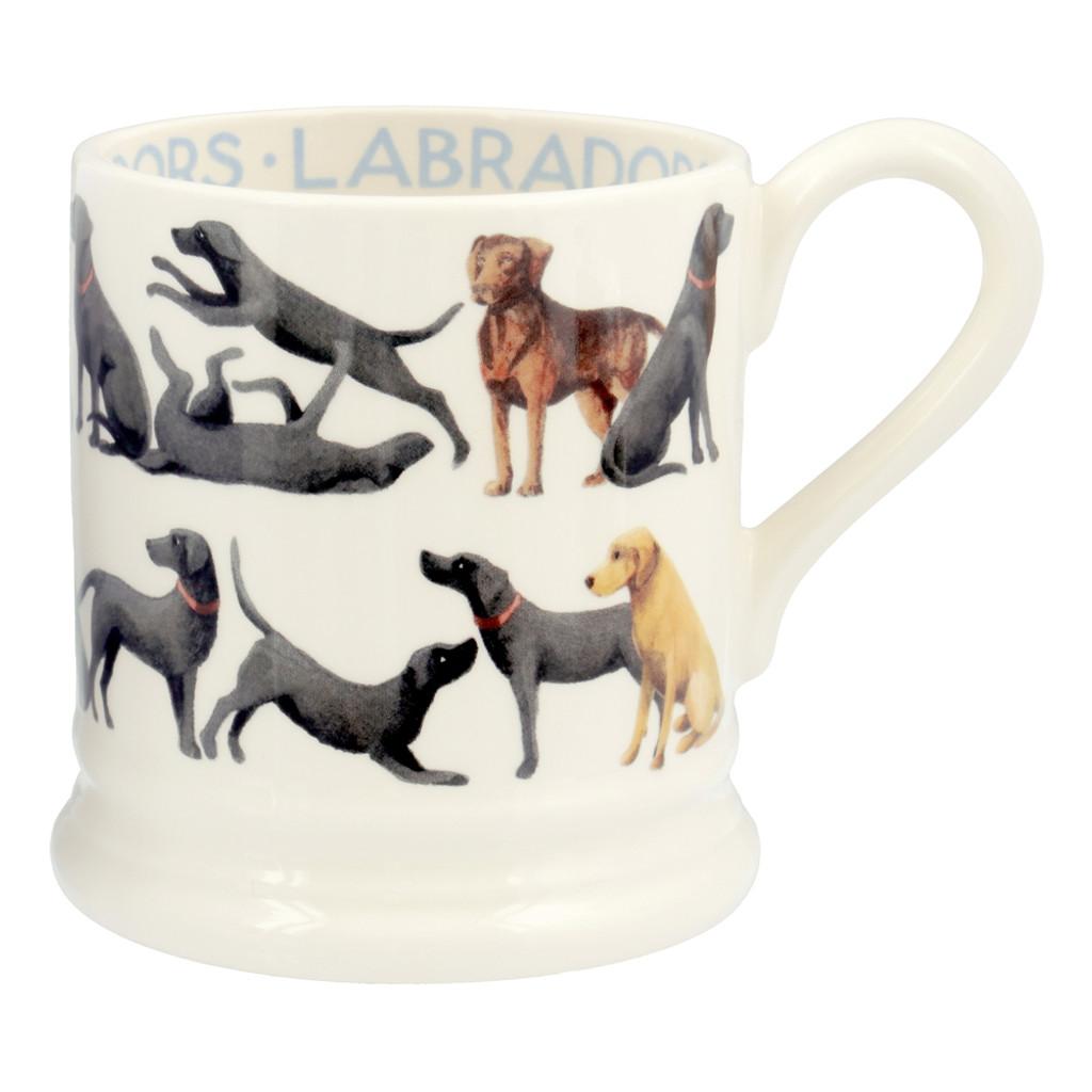 Emma Bridgewater All Over Labrador pottery 1/2 pint mug