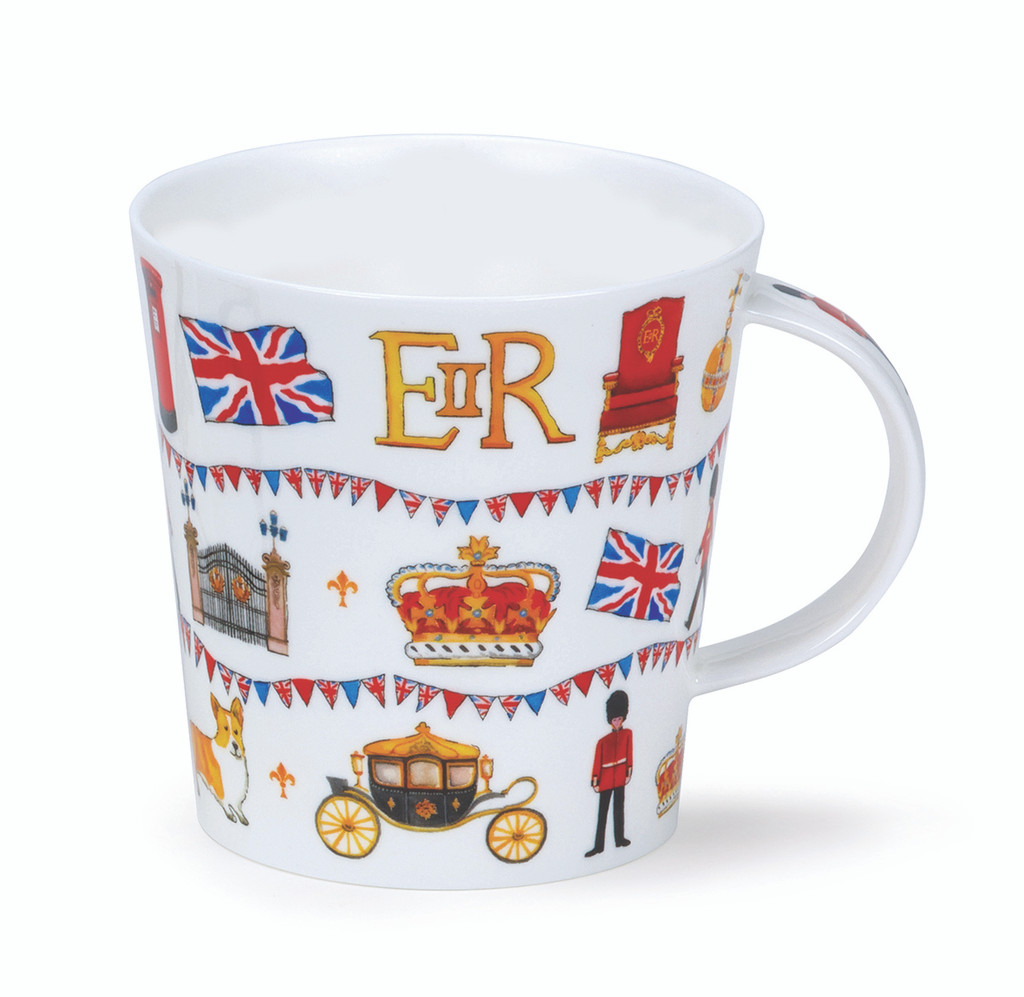 Fine bone China Regal London mug in Dunoon's Cairngorm shape.