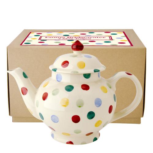 Emma Bridgewater Polka Dot 4 cup teapot.