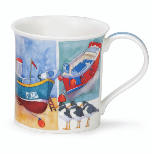 Bute Sandy Bay Boats Mug