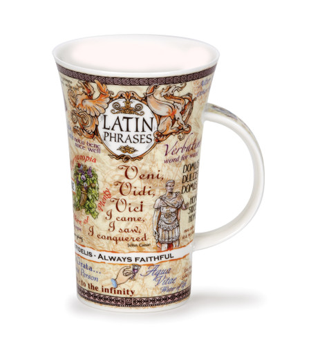 Glencoe Latin Phrases Mug