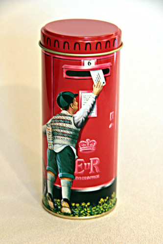 British Postbox Tin