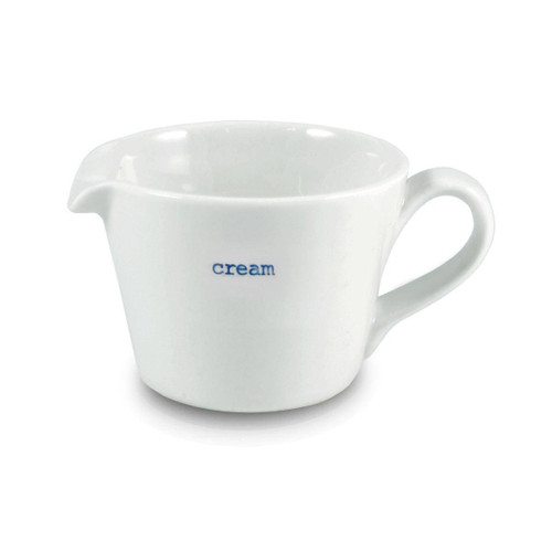 Small cream jug from British designer Keith Brymer Jones.