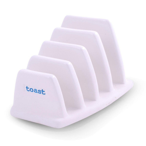 Porcelain toast rack from British designer Keith Brymer Jones.