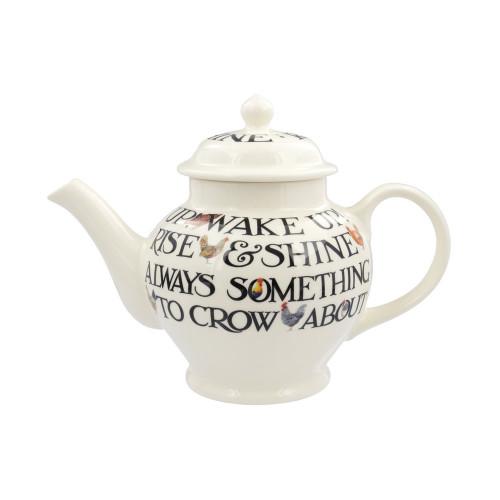 Emma Bridgewater Hen & Toast 3 Mug Teapot