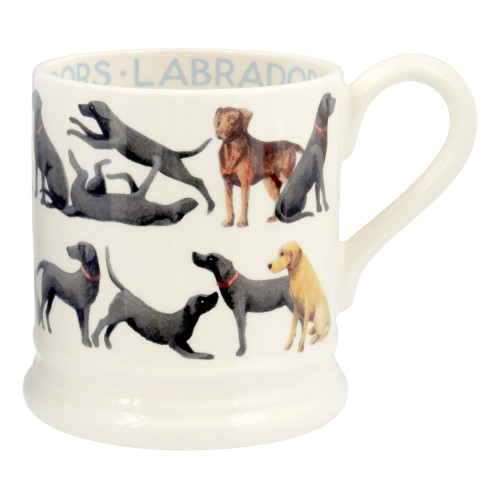 Emma Bridgewater All Over Labrador pottery 1/2 pint mug