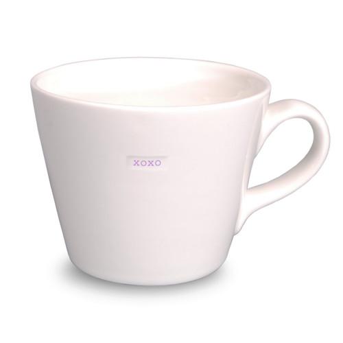 xoxo bucket mug from British designer Keith Brymer Jones.