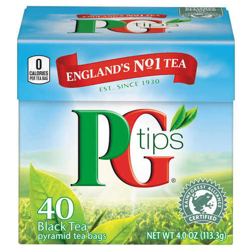 PG Tips Teabags. 40 ct.