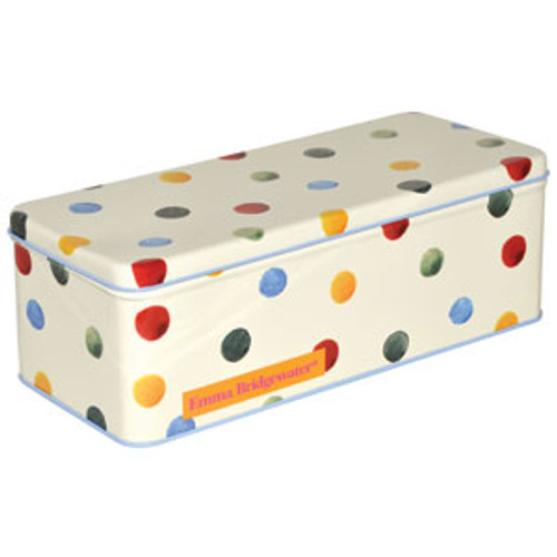 Emma Bridgewater Polka Dot Deep Rectangular Tin.