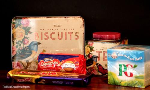 Nostalgia Biscuit Tin.