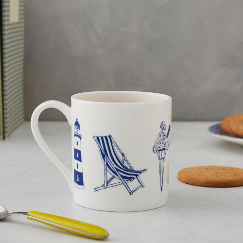 Victoria Egg's bone china Nautical mug.