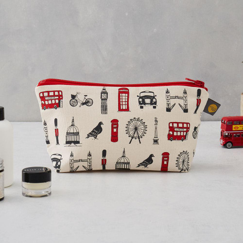 London Icons cosmetic bag/pencil case from Victoria Eggs
